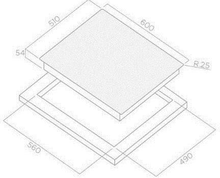 Elica LIEN DIAMOND 604 BL (PRF0095073)